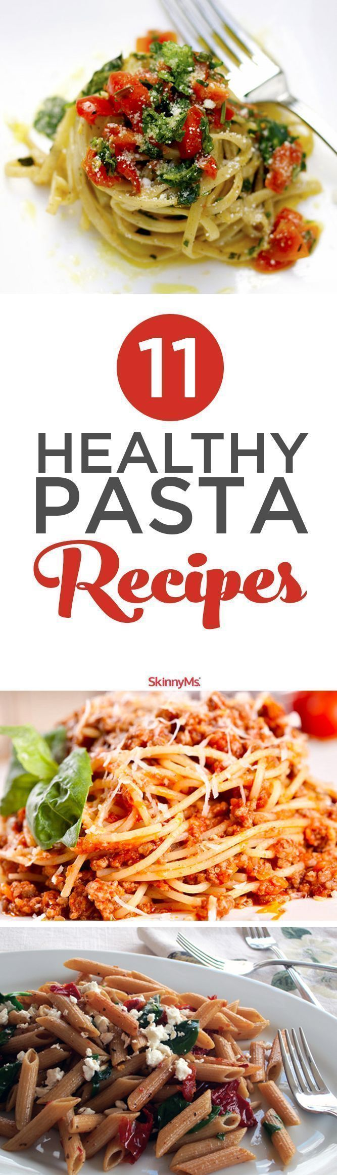 Dont take pasta-licious recipes off your menu when you want to lose weight and feel slim. With the right recipes, you can still sink your fork into a bowl of tasty pasta without the guilt and bad carbs. Add these 11 healthy pasta recipes to your weight l