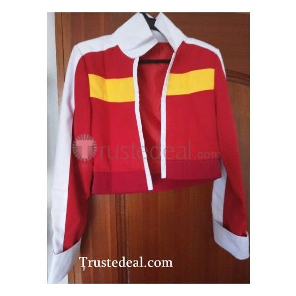 Voltron Legendary Defender Keith Red Jacket Cosplay Costume ❤ liked on Polyvore featuring costumes, cartoon halloween costumes, role play costumes, cartoon character costumes, cosplay costumes and cartoon costumes