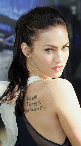 Mila Kunis Tattoo Mila kunis (exotic!)
