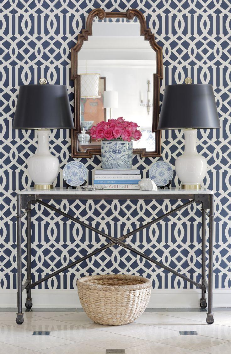 best 25 trellis wallpaper ideas on pinterest half bathroom jessica walmsley interiors imperial trellis wallpaper via http shopmaddieg com