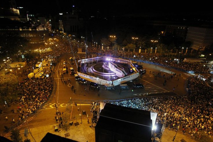 La celebración de Cibeles Real Madrid la undecima