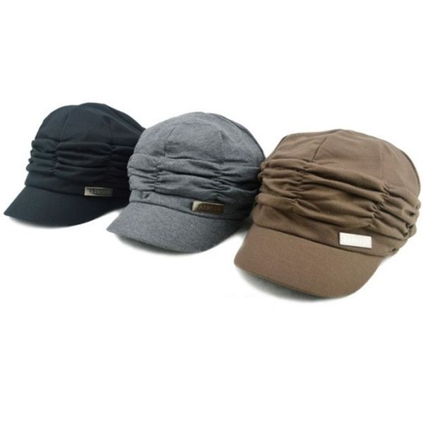 Design Women Peaked Cap Slouchy Beanie Girls Pleated Sunhat Baseball Hat