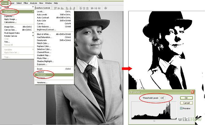 How to Make a Stencil in Photoshop (with Pictures) - wikiHow