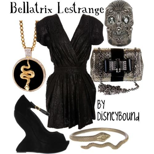 Bellatrix Lestrange: Inspiration Outfits, Crazy Shoes, Costume, Harry Potter, Disneybound, Disney Bound, The Dresses, Disney Fashion, Bellatrix Lestrange