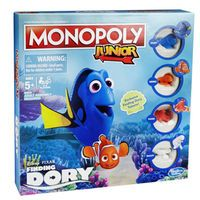 Disney Pixar Finding Dory Edition Monopoly Junior
