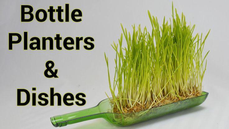 115 best wine bottles corks caps images on pinterest for How to cut glass bottles lengthwise