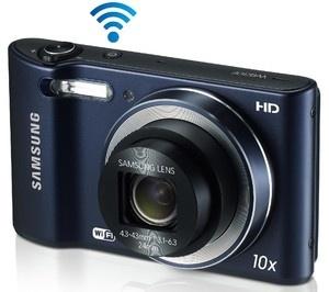 Diese kompakte Digitalkamera besitzt die WiFi-Technologie zum Versenden Ihrer Bilder direkt auf YouTube oder Facebook.    Mit einem CCD-Sensor mit 16 Megapixel und einem 24 mm-Objektiv ausgestattet, macht die WB30F sehr schöne Gruppen- oder Landschaftsfotos.
