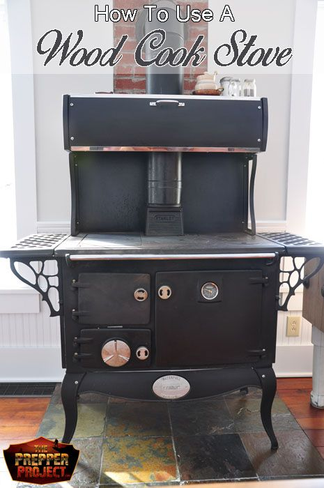 An awesome article on How To Use A Wood Cook Stove. She has so many great tips here!