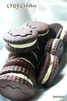Gesztenye receptjei: OREO keksz házilag