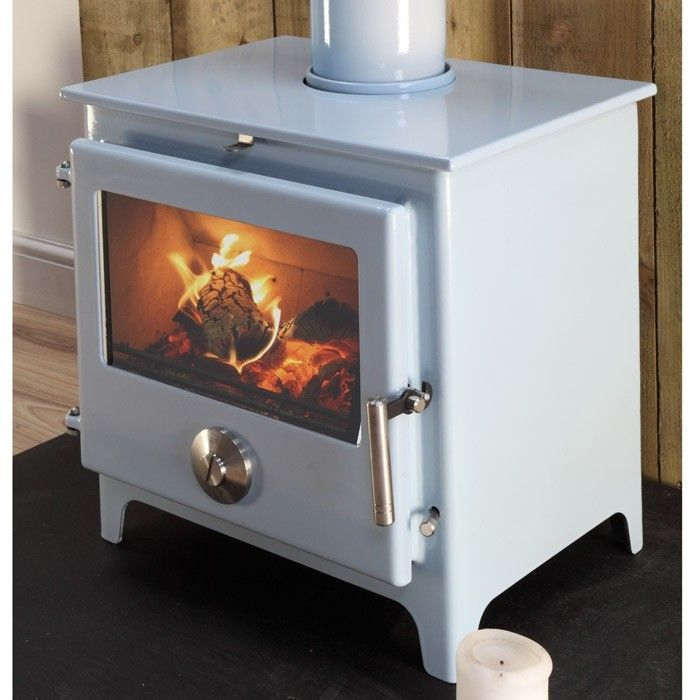Mendip 8 Multifuel / Woodburning Stove - Stoves Are Us  If that was pale green with a less modern looking handle
