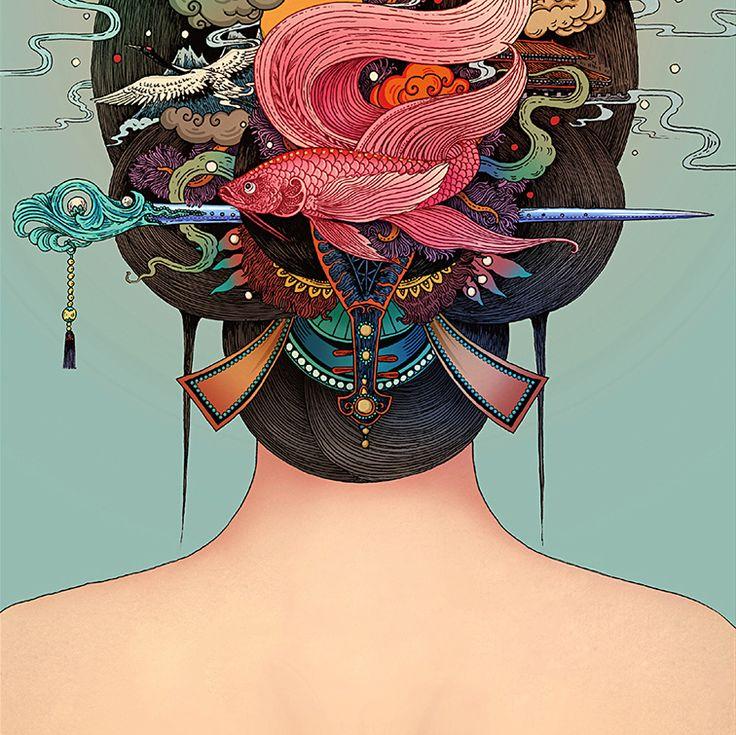 Illustration by Rlong Wang                                                                                                                                                                                 More