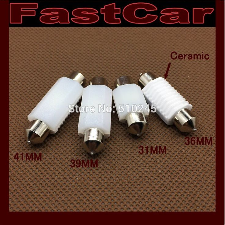 100X nonpolarity Ceramic 36mm 39mm 41mm 31mm C5W leds 3030 CANBUS Error Free Car License Plate lights Reading Dome Festoon Lamp
