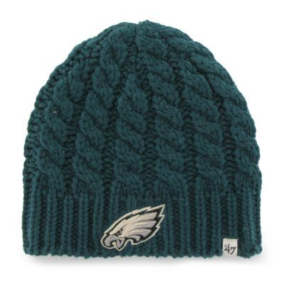 Philadelphia Eagles '47 Brand Women's Newbury Beanie - Midnight Green