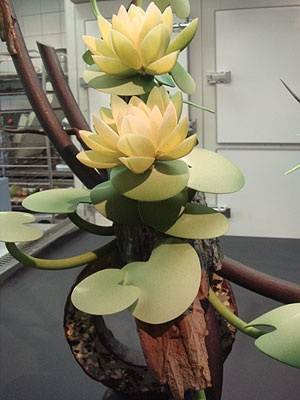 Chocolate Flowers Sculpture- Stéphane Leroux