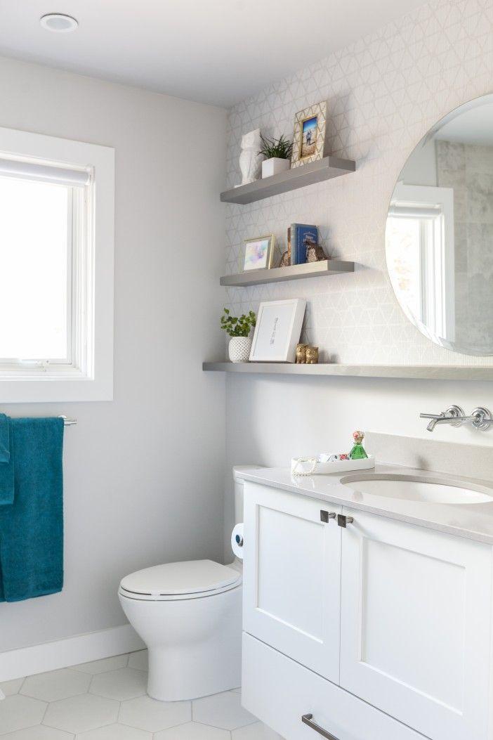 best 25+ white bathroom shelves ideas on pinterest | small