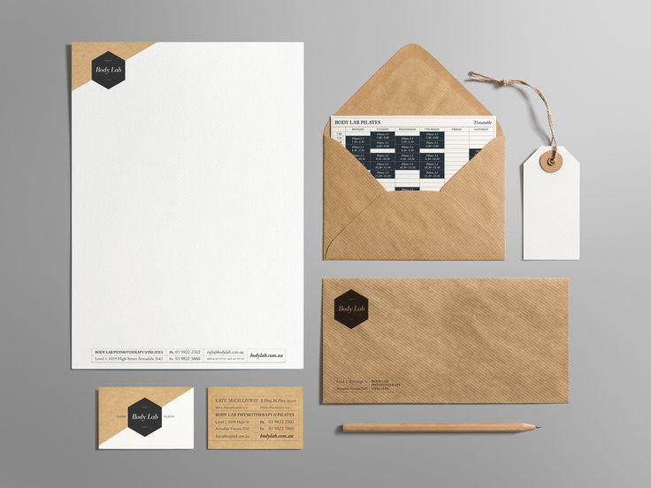 Body Lab - Physio and Pilates Studio. Branding and Identity Design