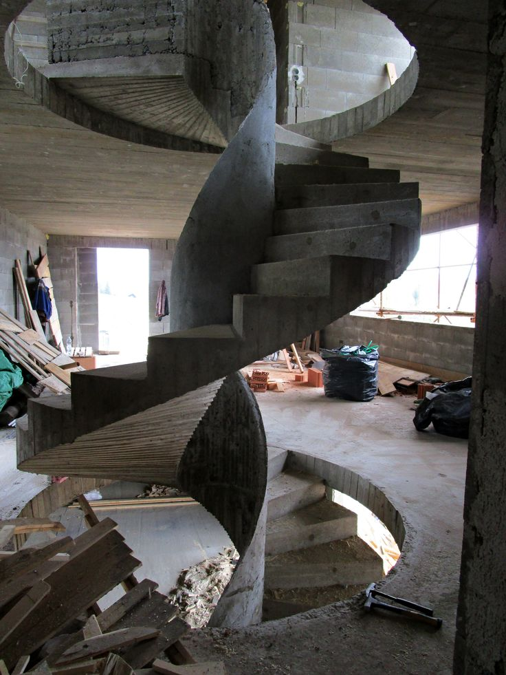 Concrete stairs DNADESIGN.CZ