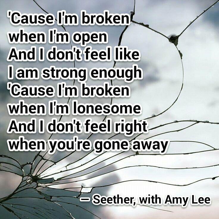 Lyric remedy seether lyrics : Best 25+ Broken by seether ideas on Pinterest | Broken seether ...