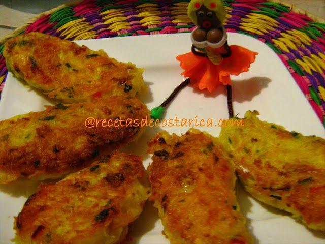 Cocina Costarricense: croquetas de yuca