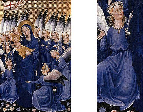Diptyque Wilton, vers 1395, Maître du Diptyque de Wilton, Londres, National Gallery