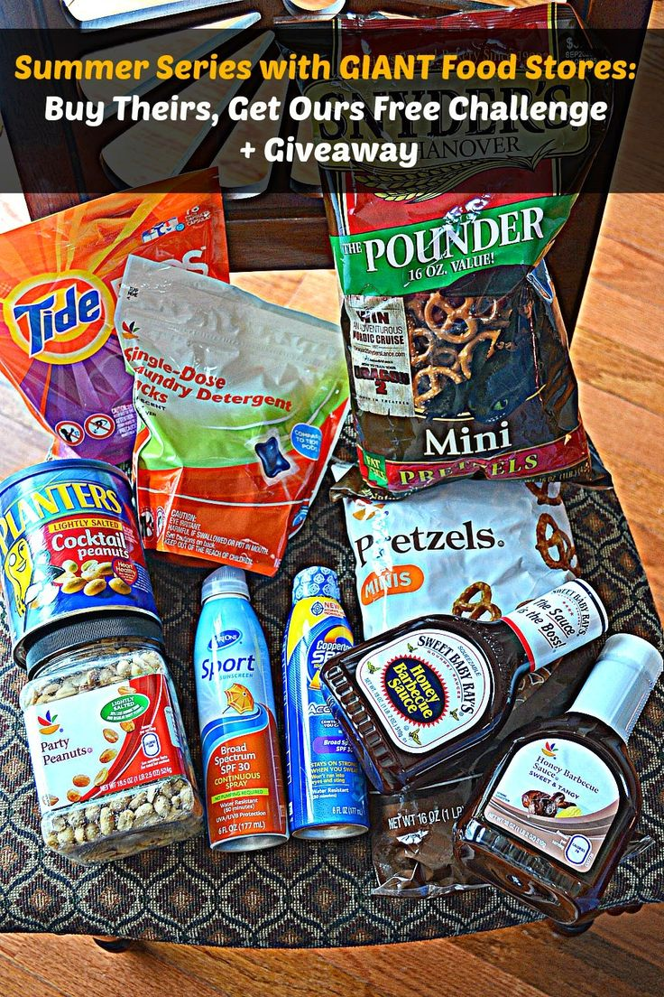 Summer Series with GIANT Food Stores: Buy Theirs, Get Ours Free Challenge + Giveaway #win #giftcard #groceryshopping @giant