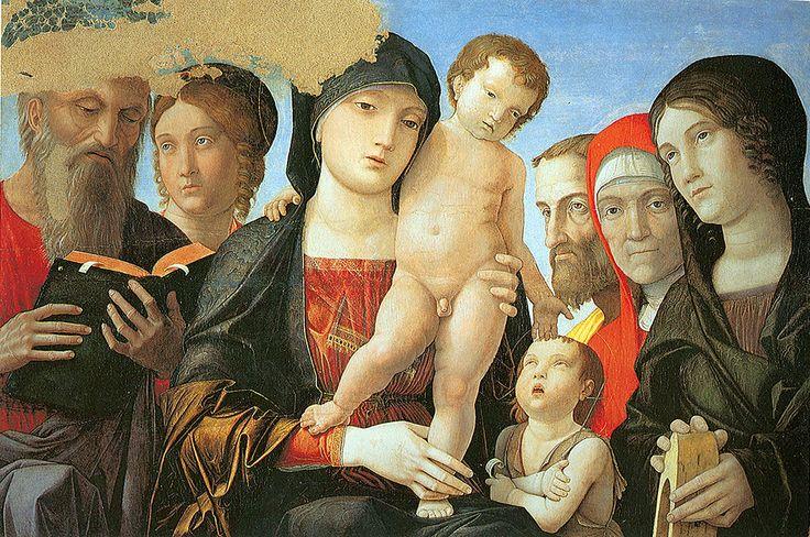 84. 1500 circa - Madonna col Bambino e santi - Torino, Galleria Sabauda