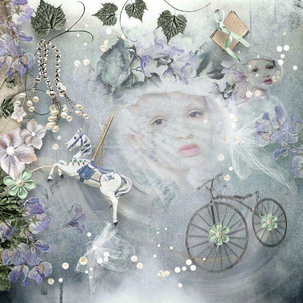 MELANCHOLIC MIND http://www.oscraps.com/shop/D_s-Design/ Photo: Basia Stankiewicz Fotografia
