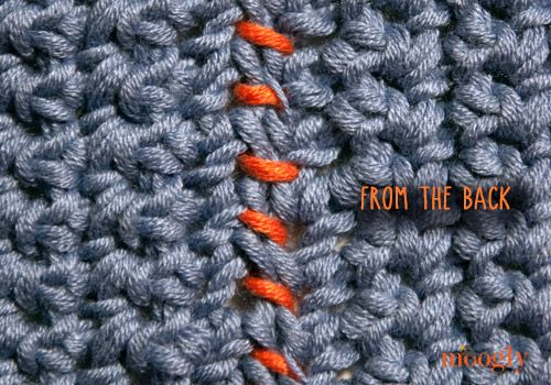 Knitting Edge Stitch For Seaming : Best images about knit stitches on pinterest yarns