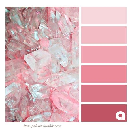 Rose Quartz Inspired Color Palette From Pantones Of The Year 2016