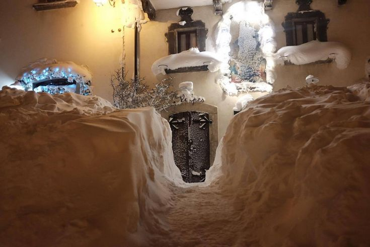 Neve   Pescocostanzo, Il borgo incantato