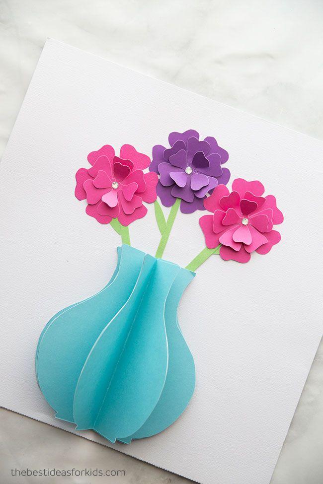 Paper Flower Craft Flower Crafts Paper Flowers For Kids Paper