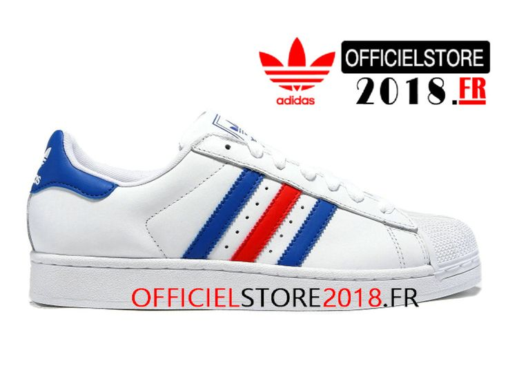 newest c3eaf dfa0c adidas superstar animaux chaussures rouge blanc mtalliques or s