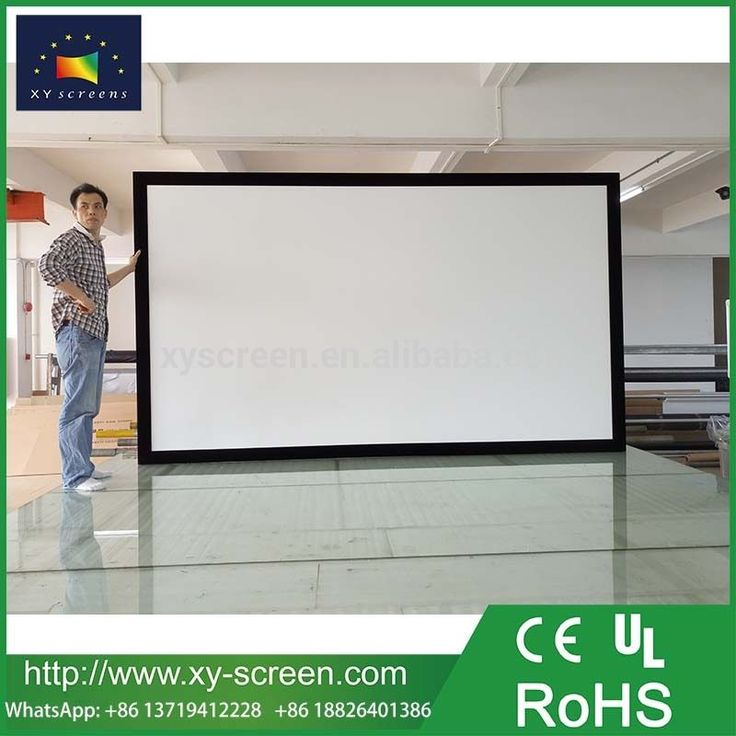 8 best Narrow Fixed Frame Projector Screen images on Pinterest ...