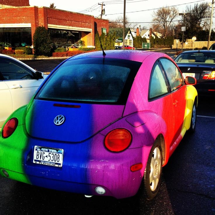 Coolest VW BUG I've Ever See.