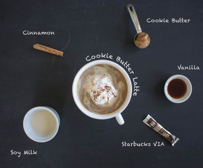 Make your own Cookie Butter Latte to sweeten up your morning.
