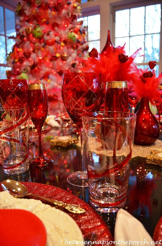 elegant valentine's day table settings