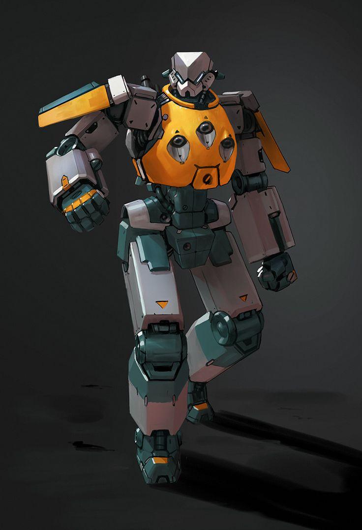 Facce di Mecha image by Lorenzo Santo Cool robots, Robot