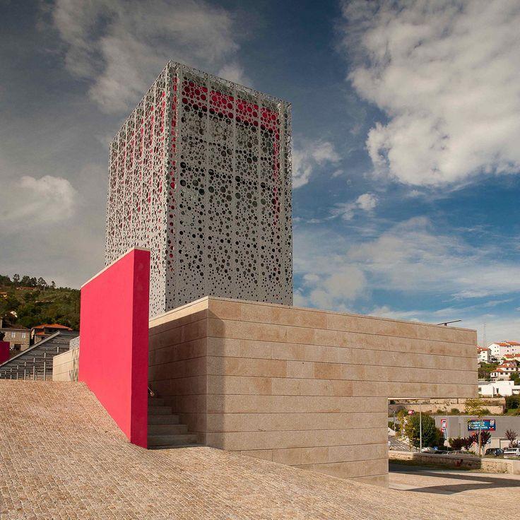 Oficina de Turismo y Paisajismo en Quinta do Aido / CG+LSC