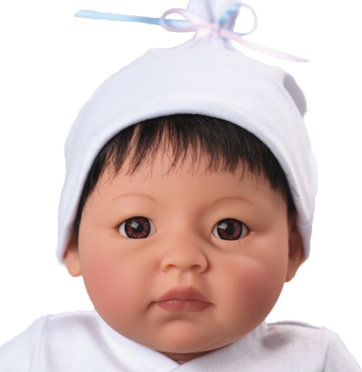 Madame Alexander Newborn Nursery Baby Doll - Wee Wonder - Itty Bitty - Light Skin, Black Hair, Brown Eyes - Nursery Babies