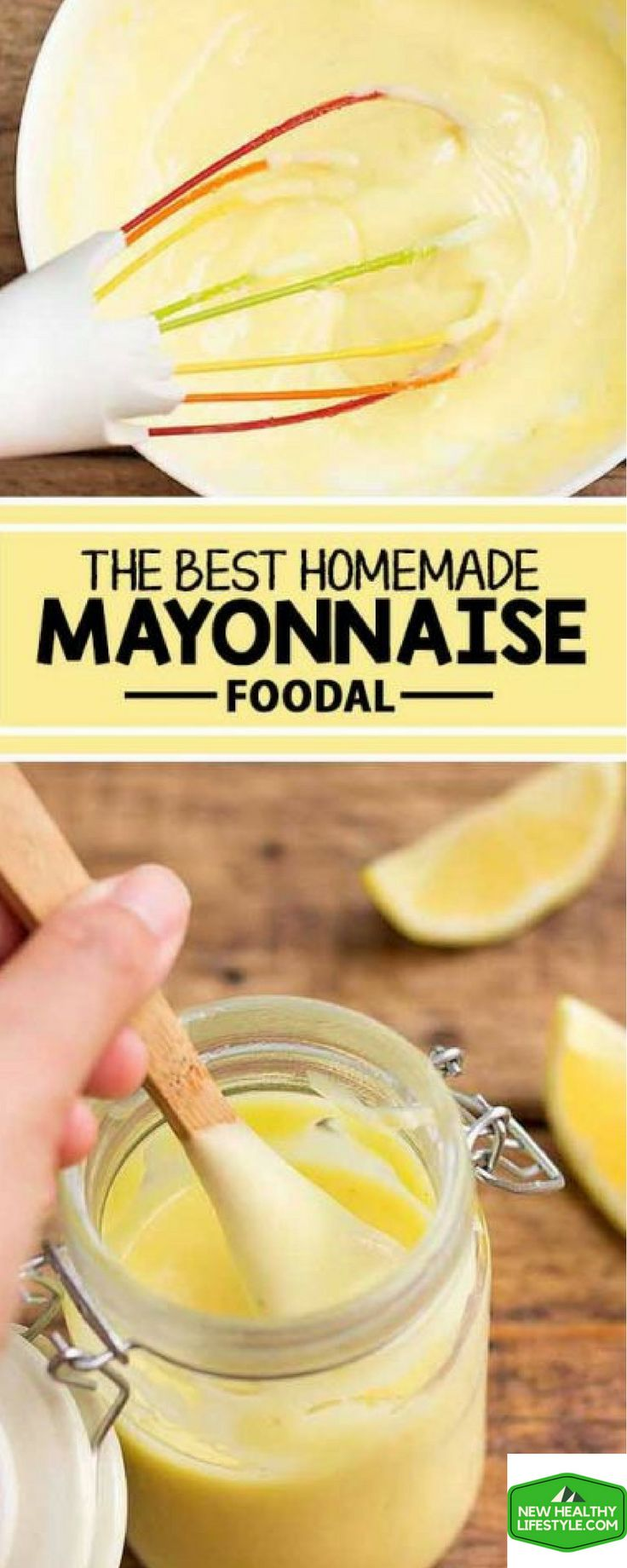 5 DELICIOUS HOMEMADE MAYONNAISE USING REAL FOOD THAT HAS NO ARTIFICIAL ADDITIVES...