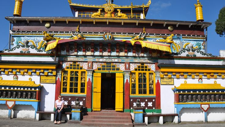 About 8 kms from Darjeeling is the Ghoom Monastery. Here a very beautiful statue of the Maitrayie Buddha (prospective Buddha) is established. The Monastery has also preserved some of the rare handwritten Buddhist manuscripts.