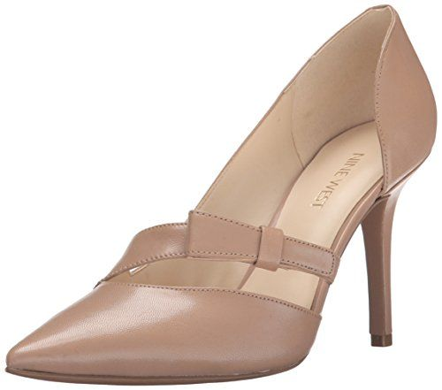Nine West Women's JANICE Leather Dress Pump
