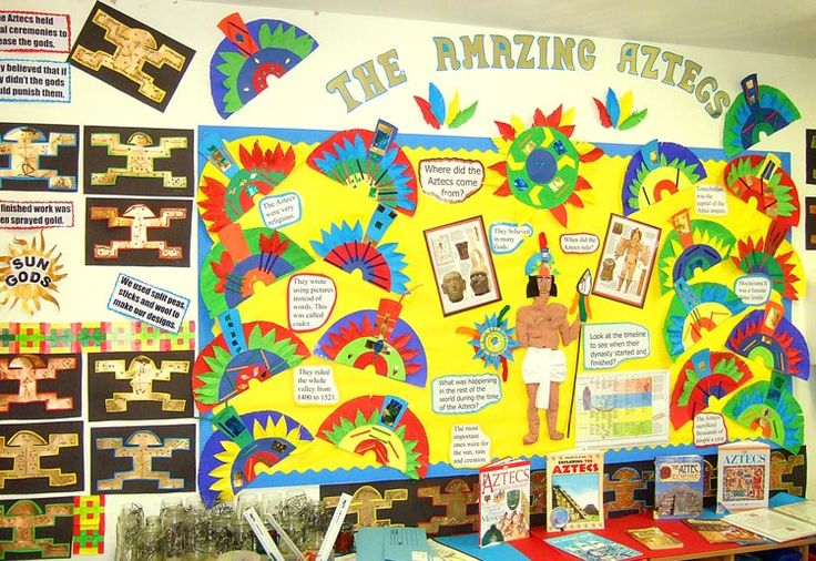 Aztec Classroom Decor ~ Best kids crafts aztecs images on pinterest aztec