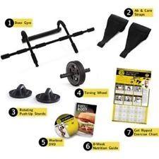 Body Building Kit Product Fitness Equipment For Women Men Golds Gym 7-in-1