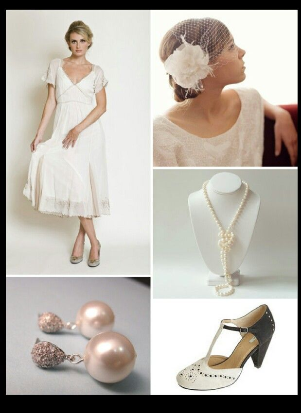Great style inspiration for an informal or daytime ceremony