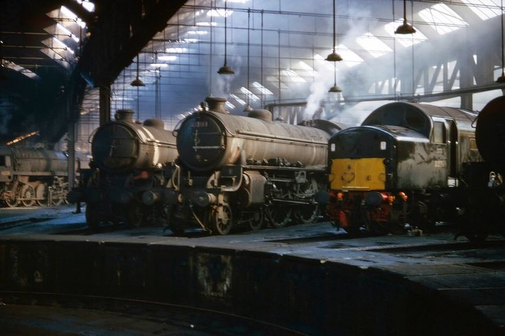 York shed April 1966 (Bill Wright)