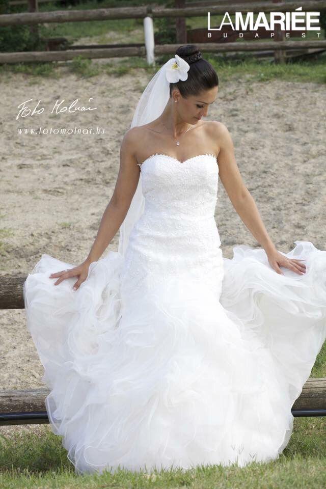 Beca esküvői ruha Pronovias 2015 http://lamariee.hu/eskuvoi-ruha/pronovias/beca
