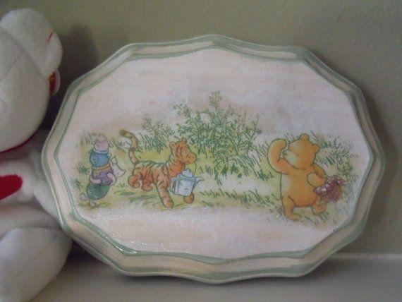 Winnie The Pooh Nursery Winnie The Pooh by SilverJewelsByCindy, $20.00