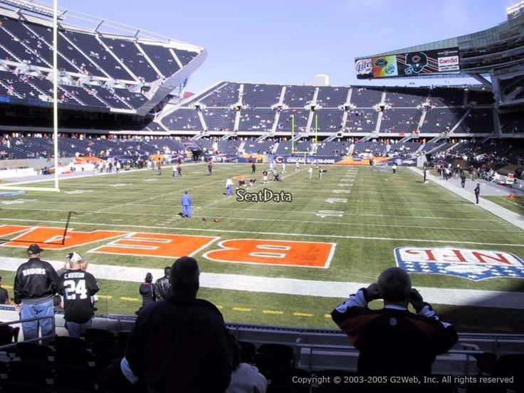 These are 2 tickets for the game between the Chicago Bears and the Jacksonville Jaguars at Soldier Field on 10/16/2016. These seats are 3 rows from th... #tickets #jaguars #jacksonville #bears #chicago