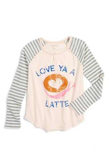Free shipping and returns on Tucker + Tate Graphic Henley Tee (Big Girls) at Nordstrom.com. Waffle-knit raglan sleeves flank a comfy, cotton-blendhenleyteefeaturing a cute graphic on the front.